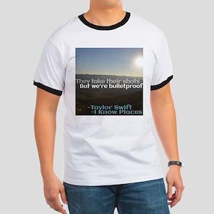 I Know Places Taylor Swift Lyric Edit T-Shirt
