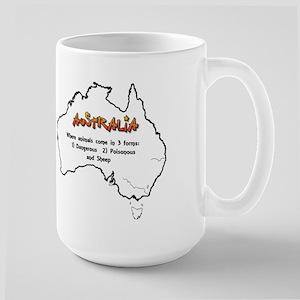 Aussie 3 Types of Animals Mugs