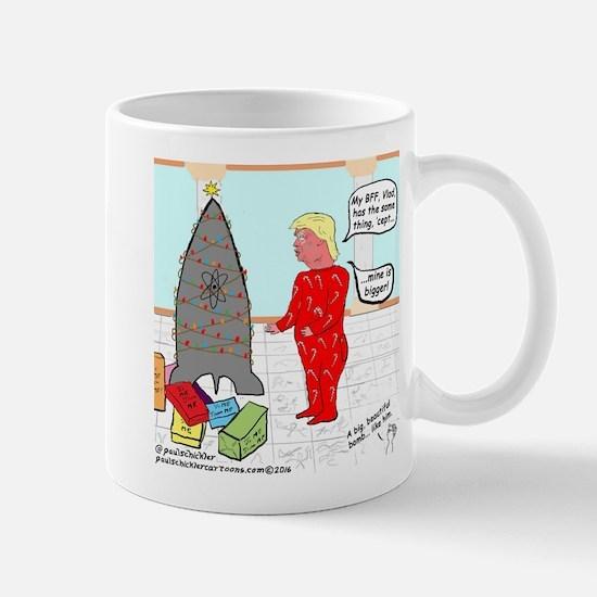 Donald's Christmas Mugs