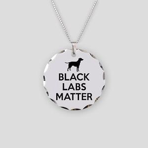 Black Labs Matter Necklace