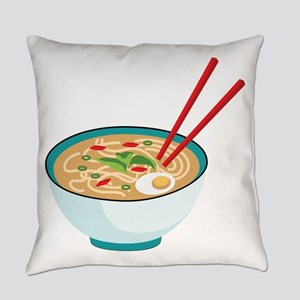 Pho Noodle Bowl Everyday Pillow
