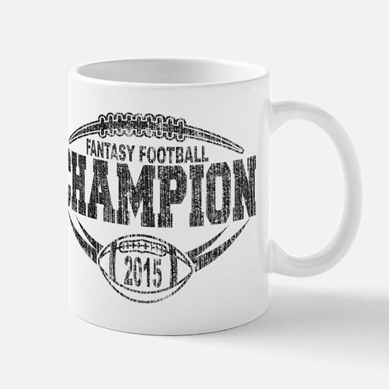 2015 Fantasy Football Champion Mugs