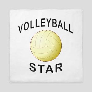 Volleyball Star Queen Duvet