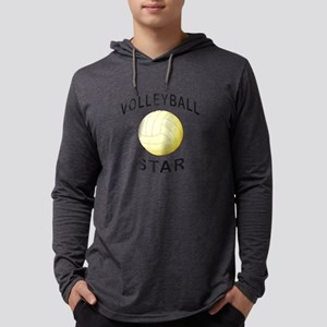 Volleyball Star Long Sleeve T-Shirt