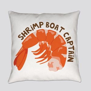 Shrimp Boat Captain Everyday Pillow