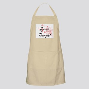 Speech Therapist Artistic Job Design with He Apron