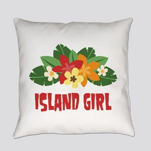 Island Girl Everyday Pillow