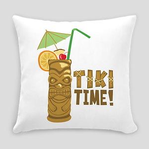 Tiki Time! Everyday Pillow