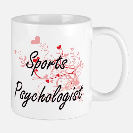 Sports Psychologist Artistic Job Design with Mugs