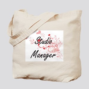 Studio Manager Artistic Job Design with H Tote Bag
