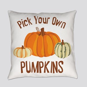 Pick Your Own Pumpkins Everyday Pillow