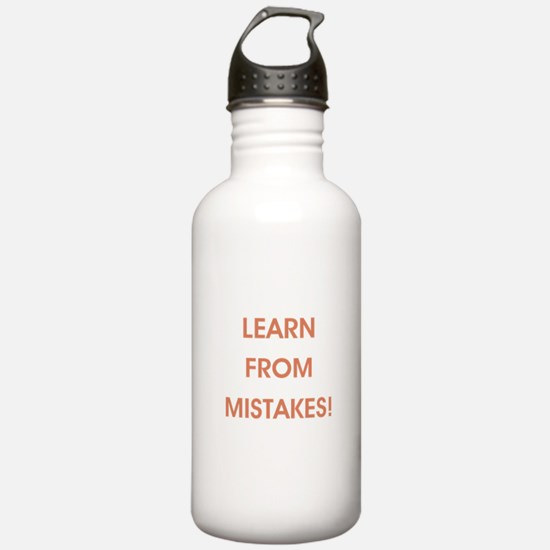 LEARN FROM MISTAKES! Water Bottle