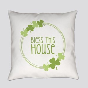 Bless This House Everyday Pillow