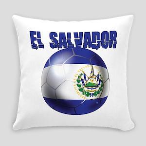 Futbol de El Salvador Everyday Pillow