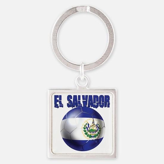 Futbol de El Salvador Keychains