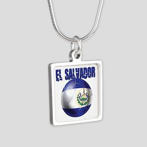 Futbol de El Salvador Necklaces