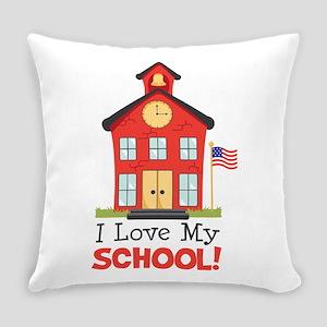 I Love My School! Everyday Pillow