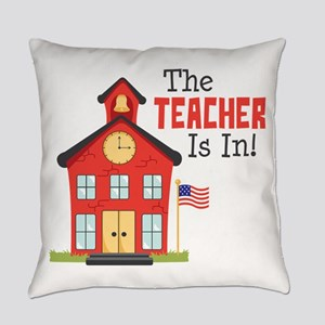 The Teacher Is In! Everyday Pillow