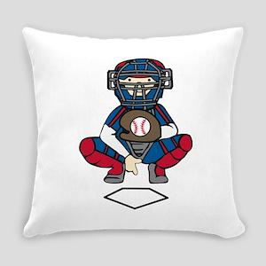 Baseball Catcher Everyday Pillow