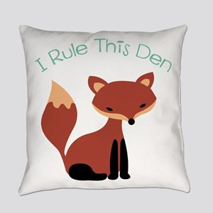 I Rule This Den Everyday Pillow