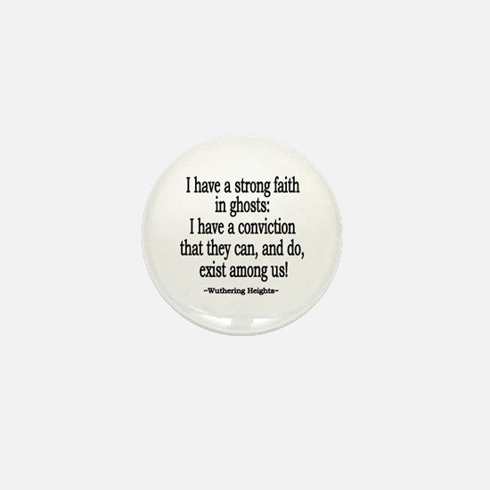 Wuthering Heights Quote Mini Button
