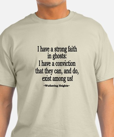 Wuthering Heights Quote T-Shirt