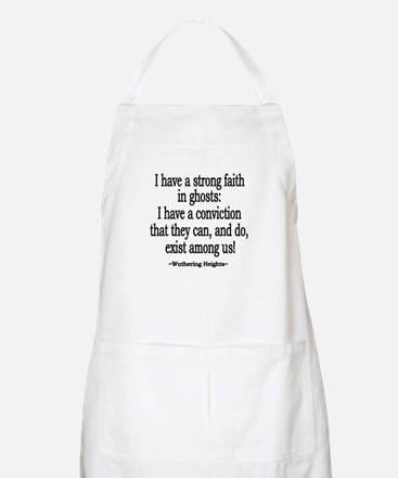 Wuthering Heights Quote BBQ Apron