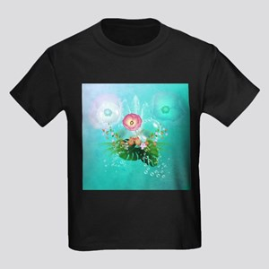 Wonderful flowers with bubbles T-Shirt
