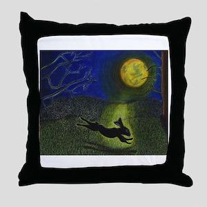 """In Moonlight"" Throw Pillow"