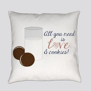 Love & Cookies Everyday Pillow