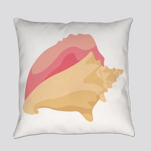 Conch Shell Everyday Pillow