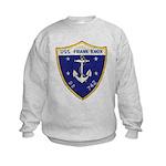 USS FRANK KNOX Kids Sweatshirt