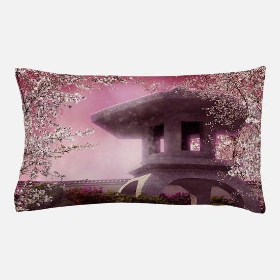 Oriental Garden Pillow Case