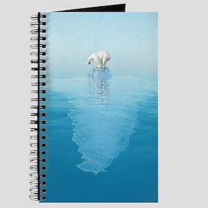 Polar Bear on Iceberg Journal