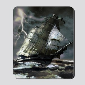 Ghost Ship Mousepad