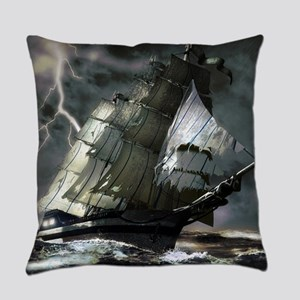 Ghost Ship Everyday Pillow