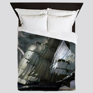 Ghost Ship Queen Duvet