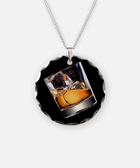 Whisky on the Rocks Necklace