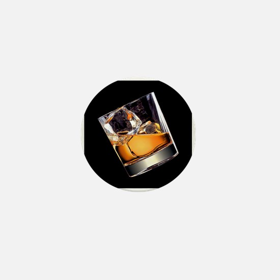 Whisky on the Rocks Mini Button