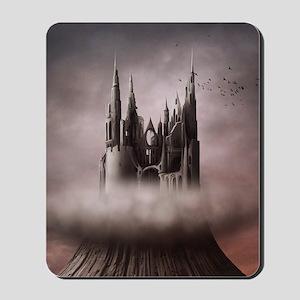 Gothic Castle Ruins Mousepad