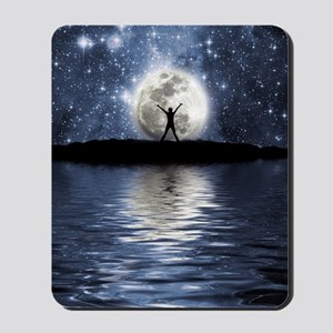 Between Heaven and Earth Mousepad