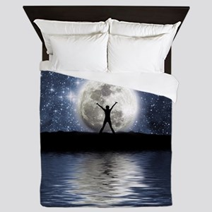 Between Heaven and Earth Queen Duvet