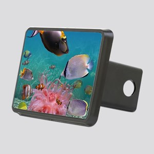Tropical Fish Rectangular Hitch Cover