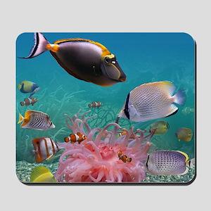 Tropical Fish Mousepad