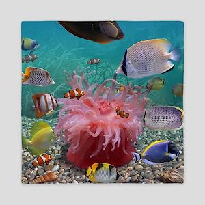 Tropical Fish Queen Duvet