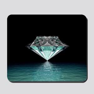 Aqua Diamond Mousepad