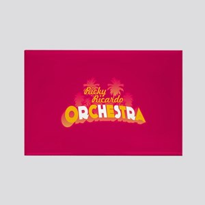 Lucy Ricky Ricardo Orchestra Rectangle Magnet