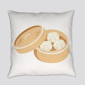 Asian Dumplings Everyday Pillow