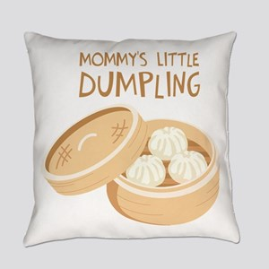 MOMMYS LITTLE DUMPLING Everyday Pillow