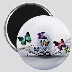 Colorful Butterflies Magnet